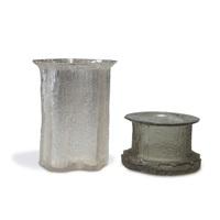 zwei vasen finlandia (pair) by timo sarpaneva
