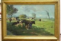 melktijd by johannes wilhelm van der heide