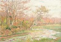 bord de rivière au printemps by jacinthe pozier