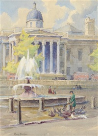 trafalgor square by mary georgina barton