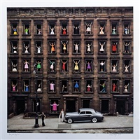 new york city (models in windows) by ormond gigli