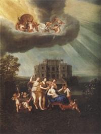 la toilette de vénus by jean cotelle the younger