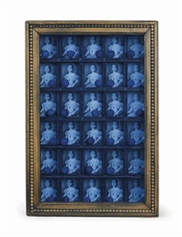 untitled (compartmented medici princess (bronzino)) by joseph cornell
