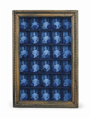 untitled compartmented medici princess bronzino by joseph cornell