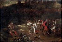 danse de paysans by claudine bouzonnet stella