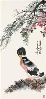 春江水暖图 by liu bonian
