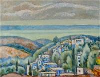 galilee landscape by arie alweil