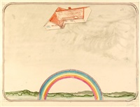 alice over the rainbow by robert arneson