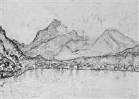 see von bergen eingesäumt by johannes fischer