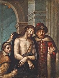 krisztus pilátus előtt by titian (tiziano vecelli)