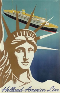 holland - america line by franciscus joseph eng mettes
