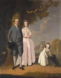 portrait of the turner family by james miller