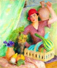 kwiaciarka by mieszko (mieczyslaw) jablonski
