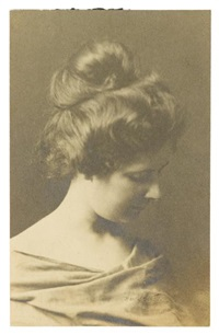 portrait of lydia campbell by arnold genthe