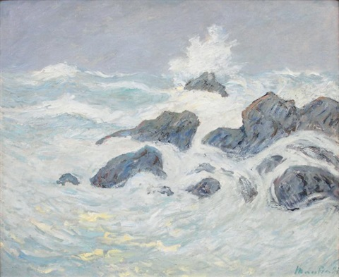 côte rocheuse by maxime maufra