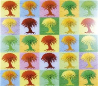 alberi rivisitati by mauro pezzato