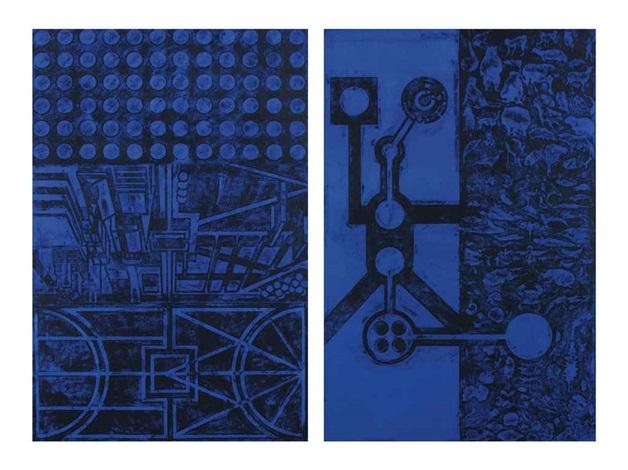 untitled in 2 parts by matt mullican