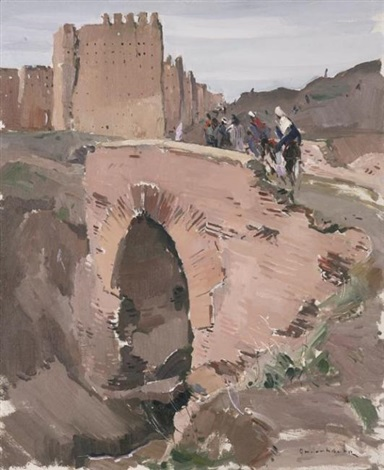 les remparts de marrakech by paul jean anderbouhr
