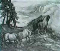 wild pastures. by anton lock