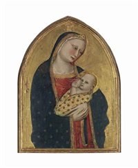 the madonna lactans by giovanni del biondo