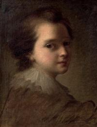 portrait d'un jeune enfant by alexis grimou