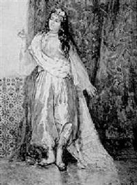 harem girl by attilio simonetti
