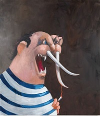 big game hunter by george condo