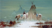 indian camp by robert wagoner