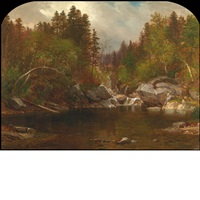 calm pond (white mountains, new hampshire) by samuel lancaster gerry