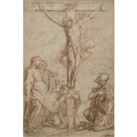 the crucifixion by guillaume courtois
