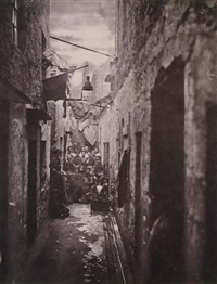 old closes and streets of glasgow (portfolio of 37, various sizes) by thomas annan