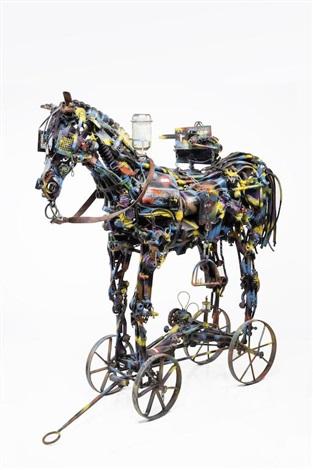 Trojan Horse II 1994 by Willie Bester on artnet