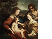 the mystic marriage of saint catherine by correggio