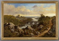 richmond castle by edmund john niemann