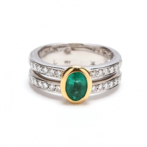 18kt Gold Emerald And Diamond Ring H Stern By H Stern On Artnet