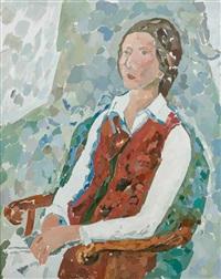 portrait von erika neugebauer by gustav hessing