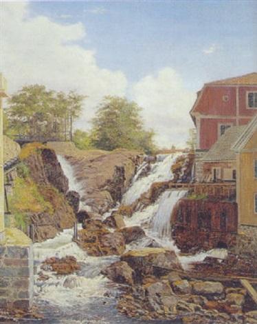 vandfald i rönneby, blekinge by christian (jens c.) thorrestrup