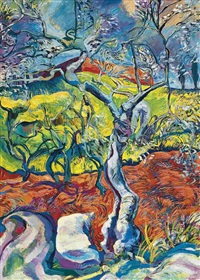 olive grove by henry korda