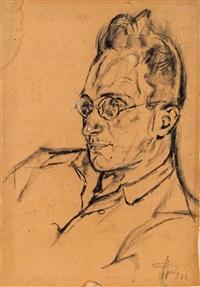 männerporträt by georg jung