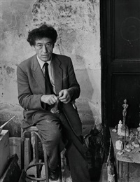 giacometti by denise colomb