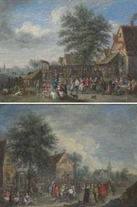 danse villageoise (pair) by veyron