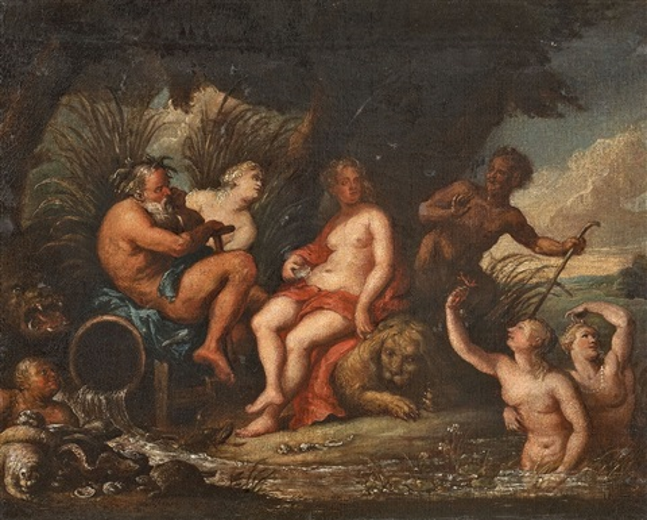 allegorie auf wasser und erde by theodor van thulden