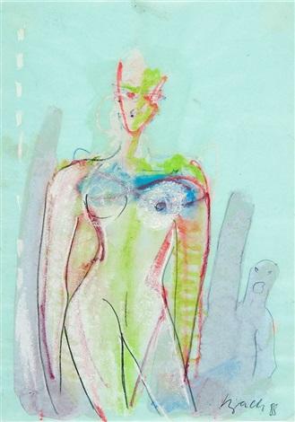 weibliche akte 2 works by elvira bach