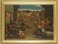 scena di mercato by bassano