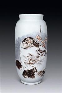 苏武牧羊 by le qiong