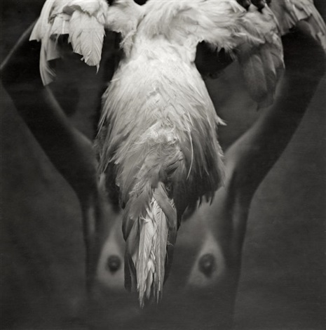 maria and white cock by mario cravo neto