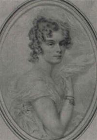 retrato de la duquesa de hijar by henri-joseph hesse
