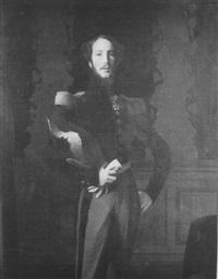 portrait du duc d'orléans by auguste pichon