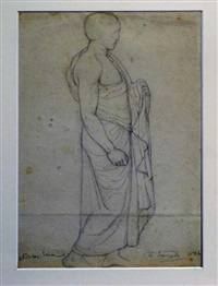 phidias in the louvre by louis a.f jannot