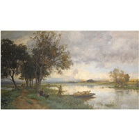 autumn floods by sir ernest albert waterlow